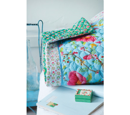 pip studio chinese garden quilt tagesdecke blue ambiendo. Black Bedroom Furniture Sets. Home Design Ideas