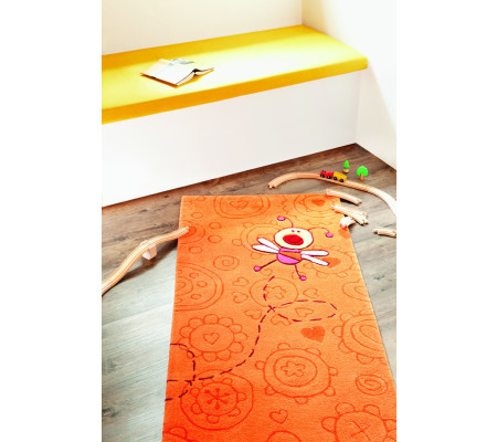 Sigikid Happy Zoo Summ-Summ Kinder-Teppich orange | AMBIENDO