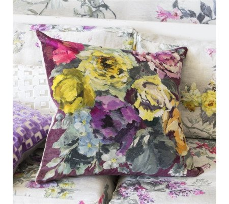 designers guild bloomsbury rose kissen mit f llung damson. Black Bedroom Furniture Sets. Home Design Ideas