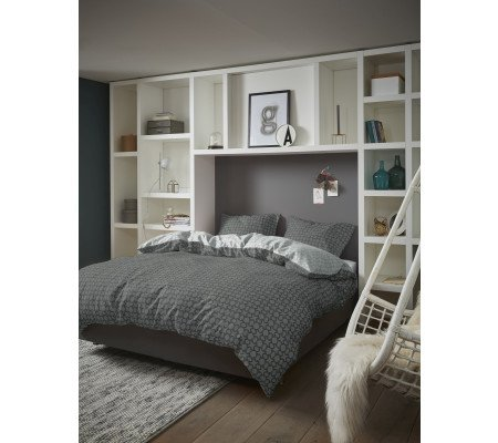 esprit spark bettw sche set anthracite ambiendo. Black Bedroom Furniture Sets. Home Design Ideas