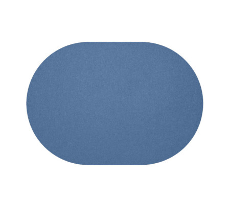 daff filz tischset oval aus merino wolle jeans blue. Black Bedroom Furniture Sets. Home Design Ideas