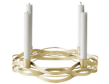 stelton Tangle Adventskranz-Kerzenhalter