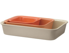 RIG-TIG by stelton COOK & SERVE Auflaufform 3er-Set