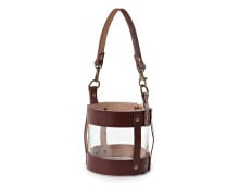 Lexington LEATHER LANTERN SMALL Laterne für Kerzen