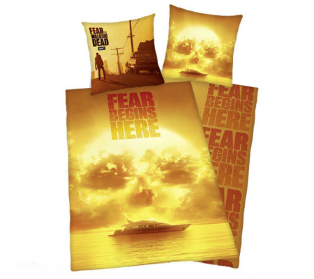 Herding Fear The Walking Dead Bettwäsche Multi Ambiendo