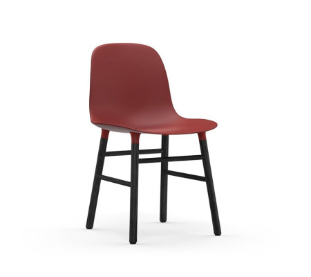 Normann Copenhagen Form Black  Stuhl