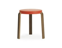 Normann Copenhagen Tap Stool Hocker Walnut