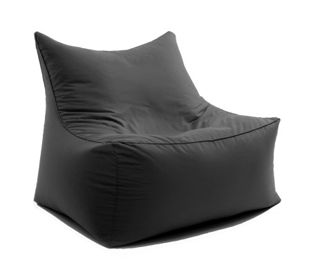 sitting bull cubic love seat sitzsack sessel f r zwei grau. Black Bedroom Furniture Sets. Home Design Ideas