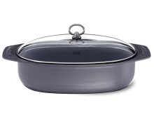 Fissler country Bräter oval m. Glasdeckel