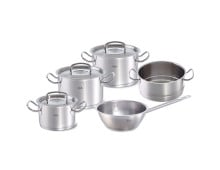 Fissler original-profi collection 5er Topf-Set mit Dämpfeinsatz