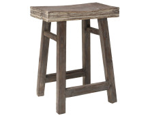HK lving Stool Rustic Hocker