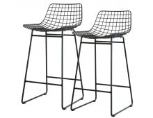 HK living Wire Bar Stool Barhocker - 2 Hocker