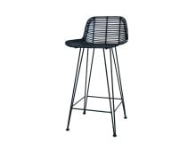 HK living Rattan Bar Stool Barhocker