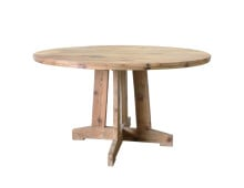 HK living Round Teak Table Tisch