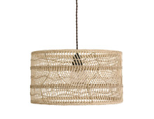 HK living Wicker Pendelleuchte
