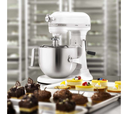 kitchenaid artisan 6 9 l k chenmaschine heavy duty 1 3 hp white ambiendo. Black Bedroom Furniture Sets. Home Design Ideas