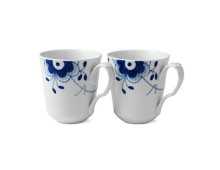 Royal Copenhagen Blue Fluted Mega Becher 2er-Set
