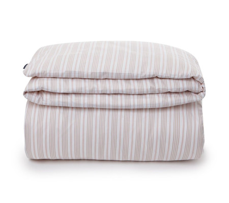 Lexington Striped Sateen Bettdecken-Bezug