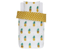 Covers & Co Pineapple Bettwäsche-Set aus Renforce