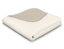 bocasa by biederlack Duo Cotton Decke mit Wendedesign