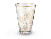 Pip Studio Royal Golden Flower Longdrinkglas 6er-Set