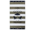 Lexington Graphic Velour Beach Towel Strandtuch