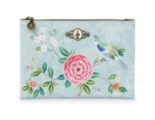 Pip Studio FLORAL GOOD MORNING flache Kosmetiktasche M