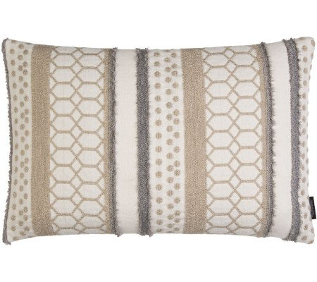 Rohleder Home Collection Boho Braid Kissen mit Füllung