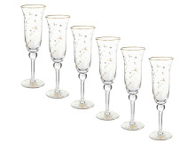 Pip Studio Royal Christmas Sektglas-6er-Set