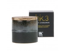 HK living ceramic soya hk3 Duftkerze - Spicy Cinnamon