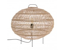 HK living wicker Stehlampe S