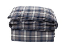 Lexington Checked Flanell Bettdecken-Bezug