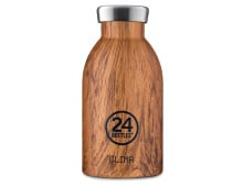 24 Bottles Clima Bottle Wood Collection Isolier-Trinkflasche mini