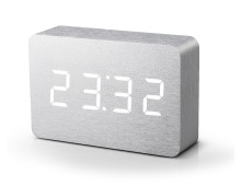 Gingko Brick Click Clock Wecker