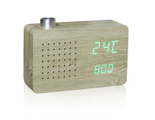 Gingko Radio Click Clock Radiowecker