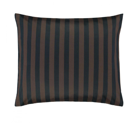 Marc Opolo Classic Stripe Kissenbezug Marineearthbrown Ambiendo