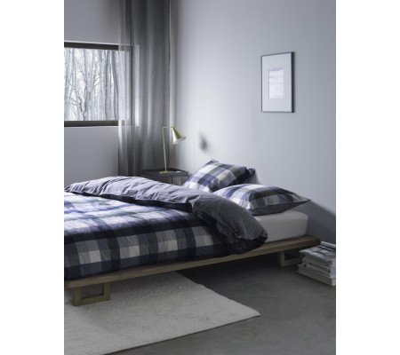 marc o 39 polo viko bettw sche set aus flanell blue ambiendo. Black Bedroom Furniture Sets. Home Design Ideas