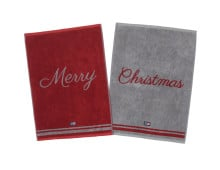 Lexington Merry Christmas Handtuch 2er-Set