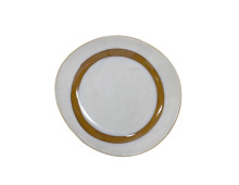 HK living 70's Ceramic Side Plate Beilagenteller