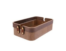 HK living Willow Wooden Aufbewahrungs-Holzbox Duo