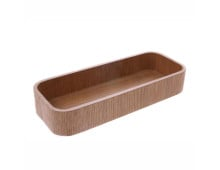 HK living Willow Wooden L Aufbewahrungs-Holzbox