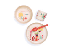 BIOBU by Ekobo Bambino Kindergeschirr-Set