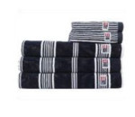 LEXINGTON Striped Velour Towel Badetuch