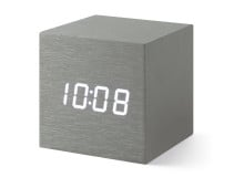 MoMA Museum of Modern Arts Alume Cube Clock Wecker