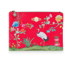 PIP STUDIO FLORAL GOOD MORNING FLACHE KOSMETIKTASCHE L
