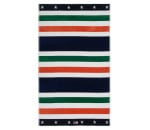 Lexington Multi Striped Velour Beach Towel Strandtuch