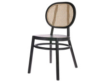 HK living retro webbing chair Stuhl