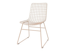 HK living wire dining chair ESSZIMMERSTUHL - 2 Stühle