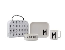 Design Letters CLASSICS IN A SUITCASE Kindergeschirr-Koffer