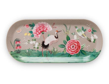Pip Studio Blushing Birds Tortenplatte oval